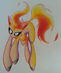 A wild Ponyta appeared by SparkleMongoose