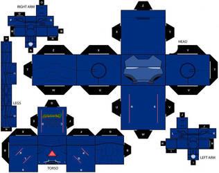 Stealth Armor cubeecraft by IronManCubeecrafts