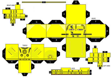 IronMan MKII (Old Armor) cubeecraft by IronManCubeecrafts