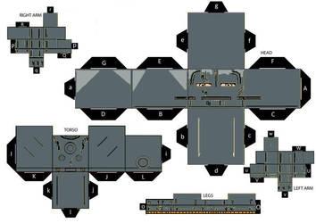 IronMan MKI (Old Armor) cubeecraft by IronManCubeecrafts
