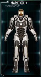 Iron Man Armor MK 39 - Starboost by IronManCubeecrafts