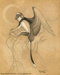Spot-nosed Flying Monkey by mirroreyesserval