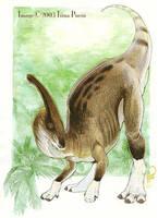 Parasaurolophus Walkeri by mirroreyesserval