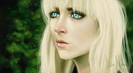 Saoirse Ronan by AshleyRoseArt