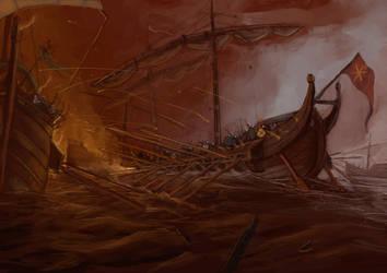 Battle of Phoenicus by callmevargo