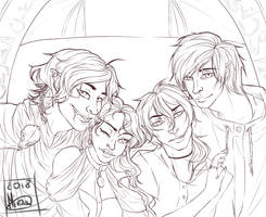 All the Little Lions.. by xxmiraine