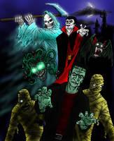 Castlevania Bosses by Decepticoin