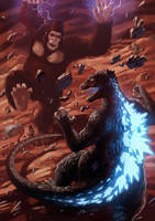 King Kong Vs Godzilla by Decepticoin