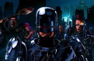 Robocop and the Cyber-Punks by Decepticoin