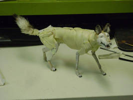 Wolf Puppet ( in progress) by Kristheblade