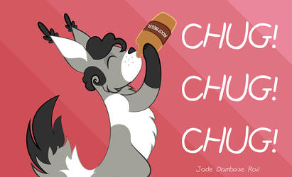 root beer chug by ponymph