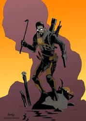 Ilustration-fan art: 'Gordon Freeman' (Half Life) by RaulArnaiz