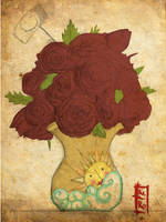 Happy Roses by Kinbarri