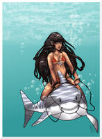 Shark Rider 2 by Kinbarri