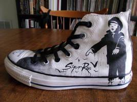 Sigur Ros Left Shoe 2 by Kinbarri