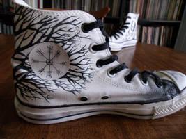 Sigur Ros Left Shoe 1 by Kinbarri