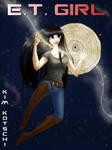 E.T. Girl Comic Cover by Kinbarri