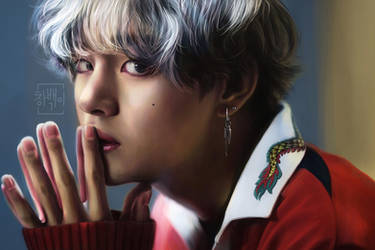 Kim Taehyung by StokeTheRage