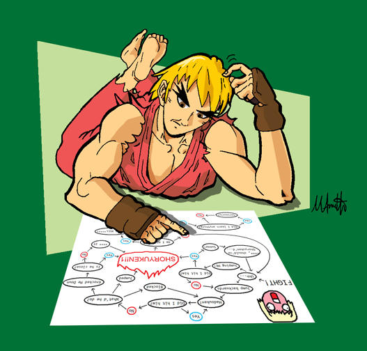 Flowchart Ken By Mamith On Deviantart