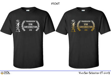 Viva San Sebastian 2018 T-shirt design by jrdl30
