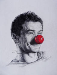 Orlando Bloom - Red Nose Day by Saeleth