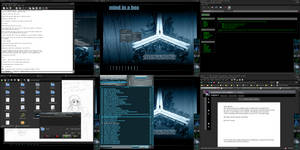 Darkly Linux by Xentalion
