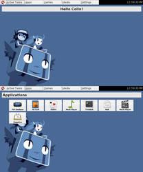 OpenPandora FLTK GUI by Xentalion