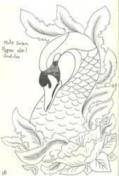 Mute Swan by VanessaHolanda