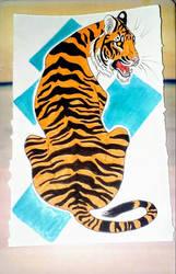 Tiger by VanessaHolanda
