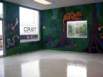 Jungle Room at Monkey Island by jazbeetle