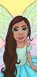 Fairy Caricature by myfavoritelighthouse