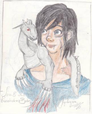 Sara und der kleine Drache II by Sephigruen