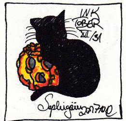 Inktober12 by Sephigruen