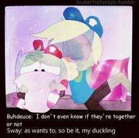 Swaydeuce by LoveArtistCrazy