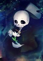 Reaper!Sans by LoveArtistCrazy