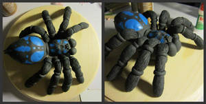 Spider sculpt wip by AndreaMalbone