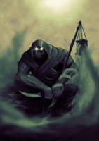 Daily Hero - Orc dark mage by BiGFooT-y2k