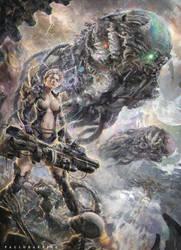 SCI FI RPG ART by paulobarrios