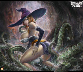 dragon's crown sorceress by paulobarrios