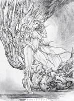 ONIX dragon girl by paulobarrios