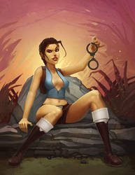 Lara Croft by Sidxartxa