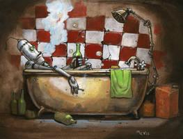 BathroomRobo by Sidxartxa