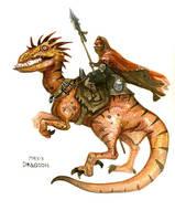 Dragoon by Sidxartxa