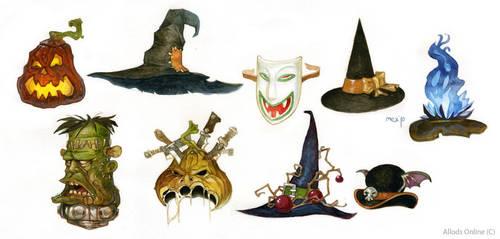 Halloween hats by Sidxartxa