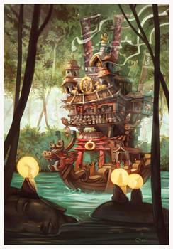 Dharma Boat by Sidxartxa