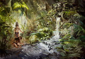 Ancient waterfall. by Sidxartxa