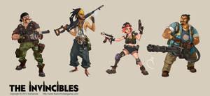 The Invincibles by Sidxartxa