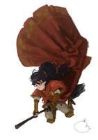 Quidditch player. by Sidxartxa