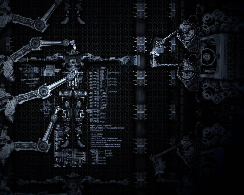 Terminator Replication by tuck on DeviantArt on terminator specifications, terminator blueprints, terminator screensaver, terminator cpu, terminator robot, terminator models, terminator hunter killer prototype, terminator books, terminator figures,