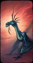 Disturbing Dragon by Timooon